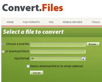 top  places  convert file formats