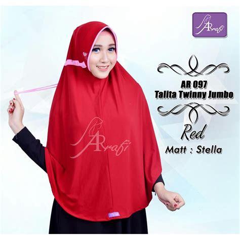 hijab arrafi terbaru jumbo tutorial hijab terbaru