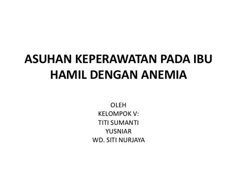 copy  asuhan keperawatan  ibu hamil  anemia