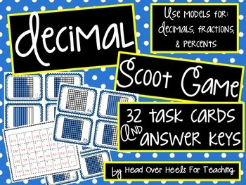 Decimal Scoot Game {Task Cards}