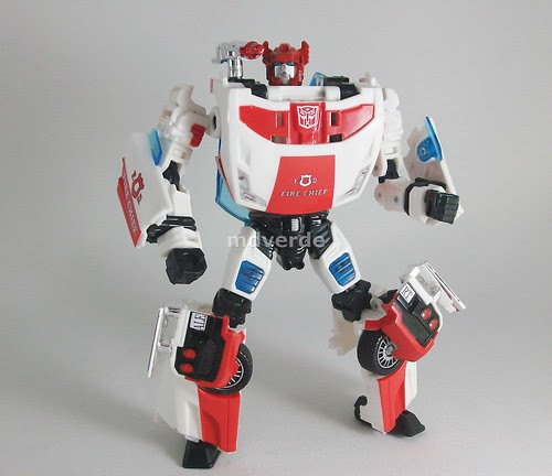 Transformers Red Alert Classics Henkei - modo robot