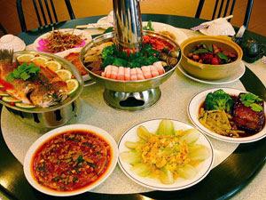 高雄,家常菜,酸菜白肉鍋,川菜,川湘園
