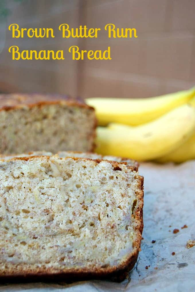 Brown Butter Rum Banana Bread | 365 Days of Baking and More