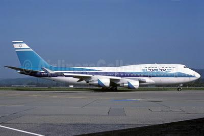 El Al Israel Airlines Boeing 747-458 4X-ELA (msn 26055) ZRH (Rolf Wallner). Image: 913092.