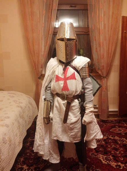 A DIY Guide to Making Your Own Knight Costume (12 pics