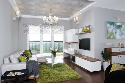 L-Shaped Living Room and Dining Room Decorating Ideas ...