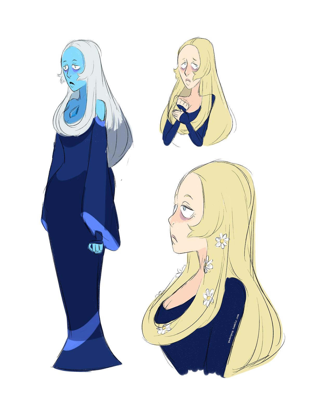Blue diamond~