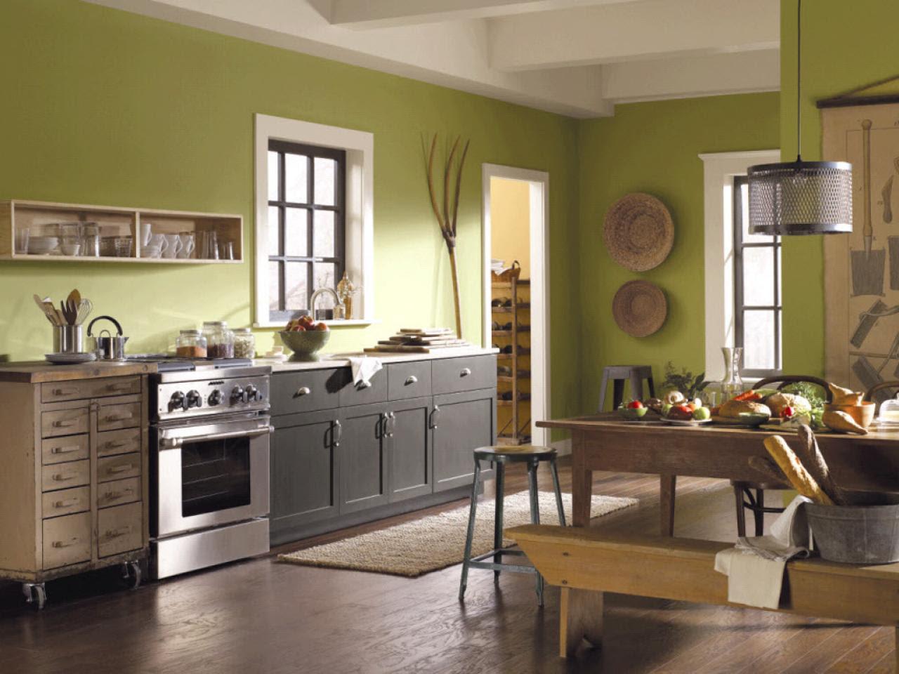 green kitchen paint colors_4x3