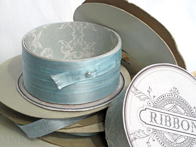 ribbon spool box open