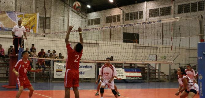 Valle  y Tolima abrieron con triunfos en el voleibol de Juegos Acord
