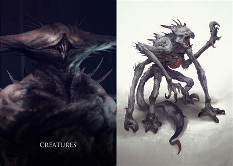 artstation creature mutations project yggdrasil miro