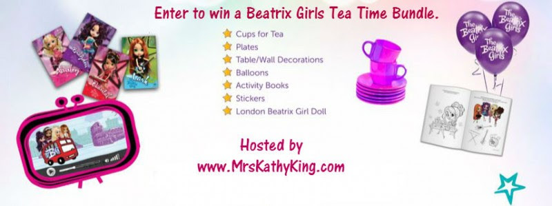 Enter the Beatrix Girls for Tea Time Giveaway. Ends 5/1.