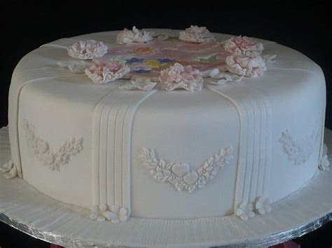 pictures of single layer wedding cakes   wedding cake