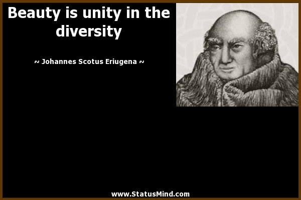 Beauty Is Unity In The Diversity Statusmindcom
