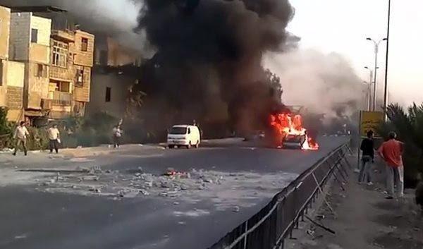La violencia se recrudece en Damasco