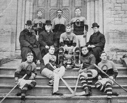 1906 Queens University Hockey Team