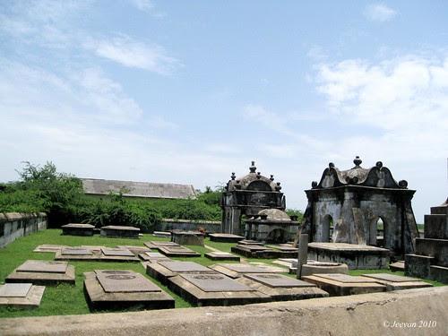 Dutch Cemetery - Pulicat