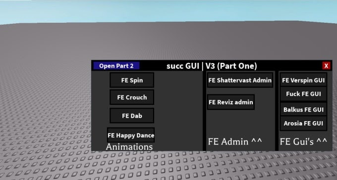 Roblox Fe Script Gui | Roblox Hack Lua