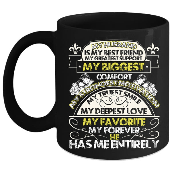 My Husband Is My Best Friend Coffee Mug My Deepest Love My Favorite