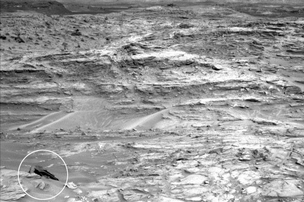 Object spotted by Mars Curiosity Rover probe