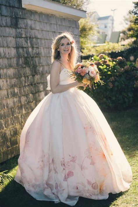 7 Most Beautiful Floral Wedding Dresses Ever!   Vowslove.com