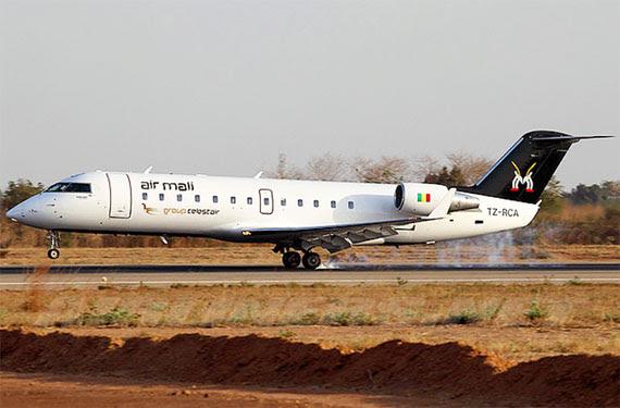 Air Mali's sole CRJ200