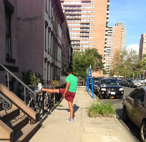 Stretching, Jersey City