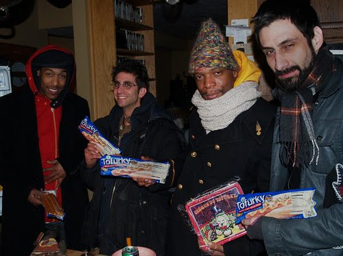 M1 of Dead Prez with my lunchbox