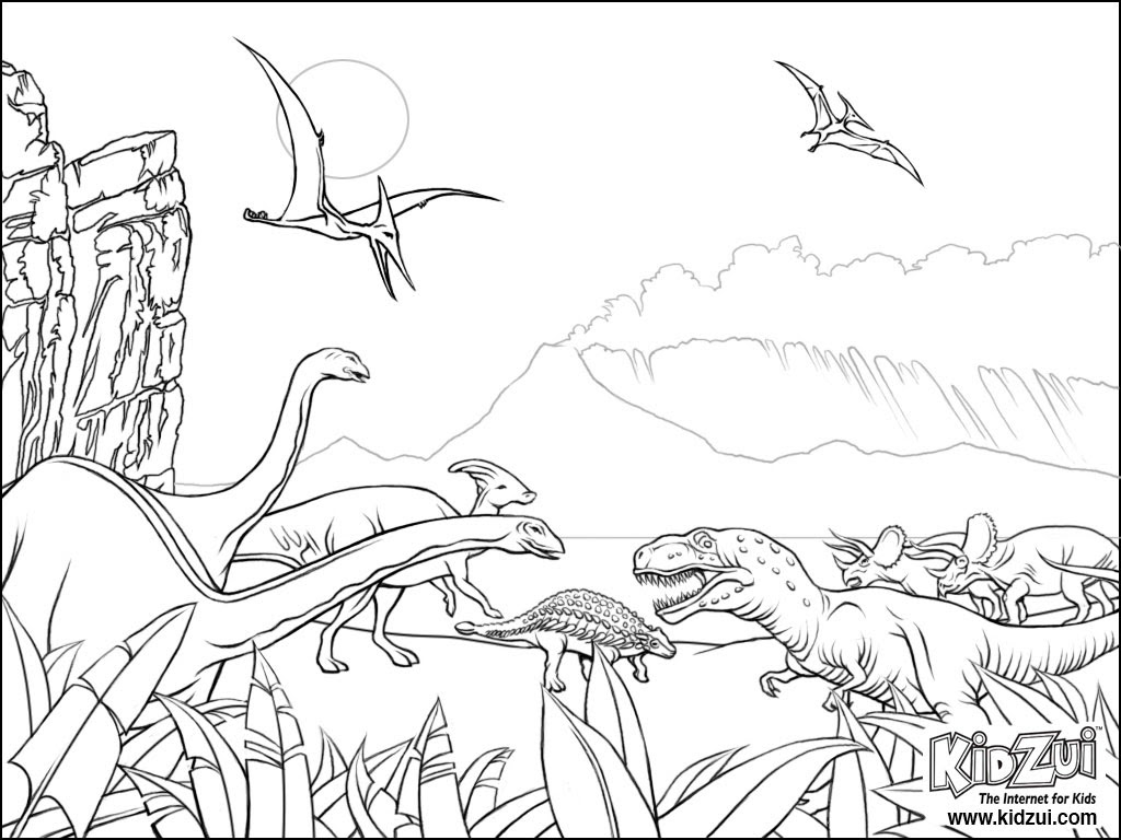 Coloriages Dinosaures