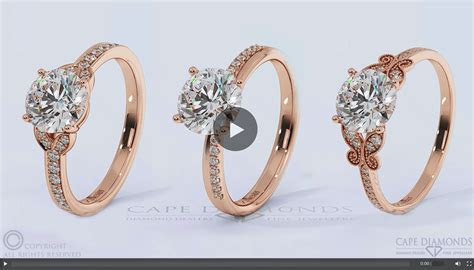 Rose Gold Engagement & Wedding Ring Collection : Cape Diamonds