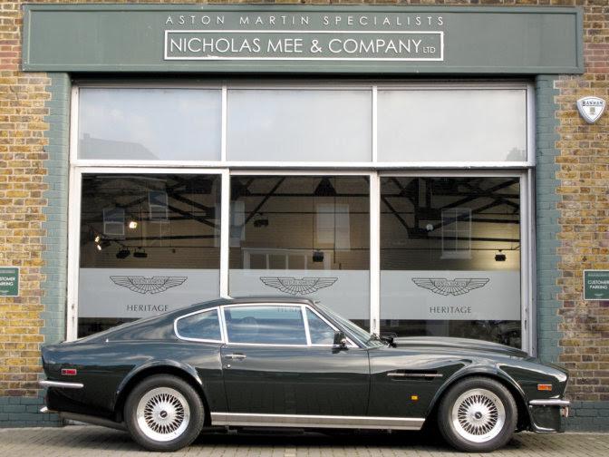 Aston Martin V8 Vantage X-Pack - The Last Car