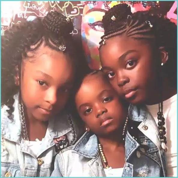 Coiffure Africaine Pour Petite Fille Noire Coiffure Pour