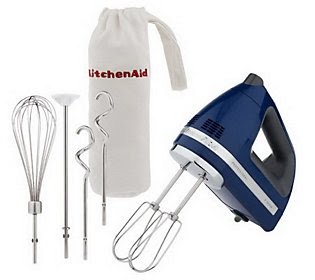 KitchenAid Professional 9 Speed Digital Hand Mixer w/ Bag&Attachments