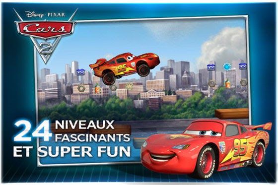 disney pixar cars  iphone ipod touch  arcade game