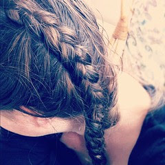 Obsessed with braiding. ;)