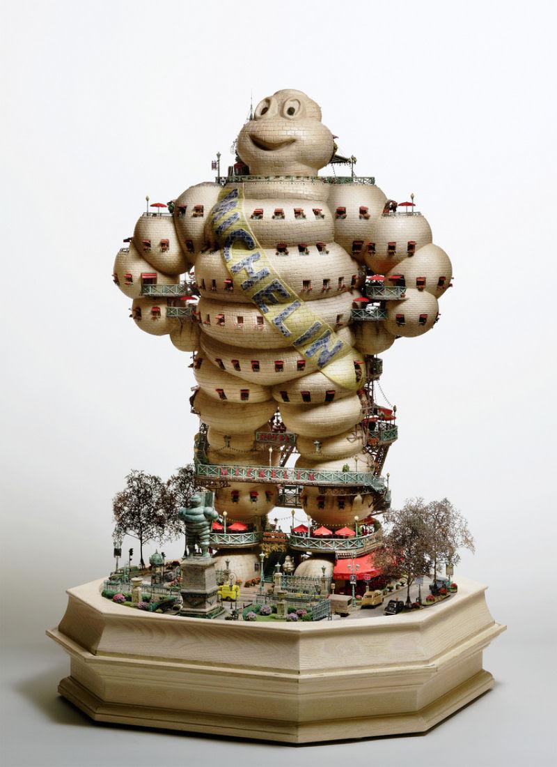 As intrincadas esculturas em miniatura de Takanori Aiba 11