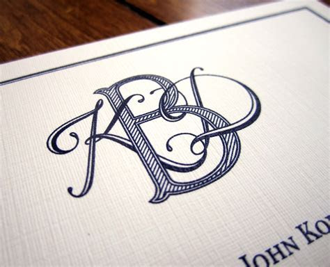 Tailored: A Couple of New Monograms   FONTastic   Monogram