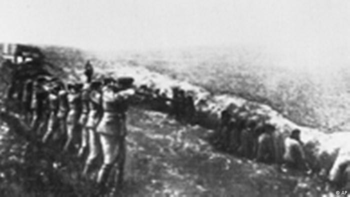 2. Weltkrieg Ermordungen in der Ukraine 1942 (AP)