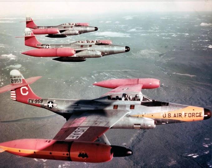 Northrop F-89 Scorpion: o primeiro avião de combate armado com mísseis nucleares