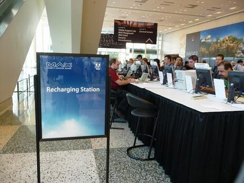 Recharing station