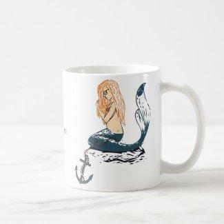 Mermaid Classic White Coffee Mug