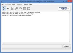 Sony Mobile Flasher Screenshot