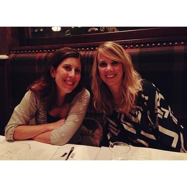 Great dinner with friends...#fleetstreetkitchen