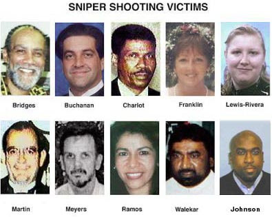 Sniper victims