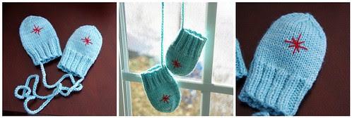 Simon's mittens