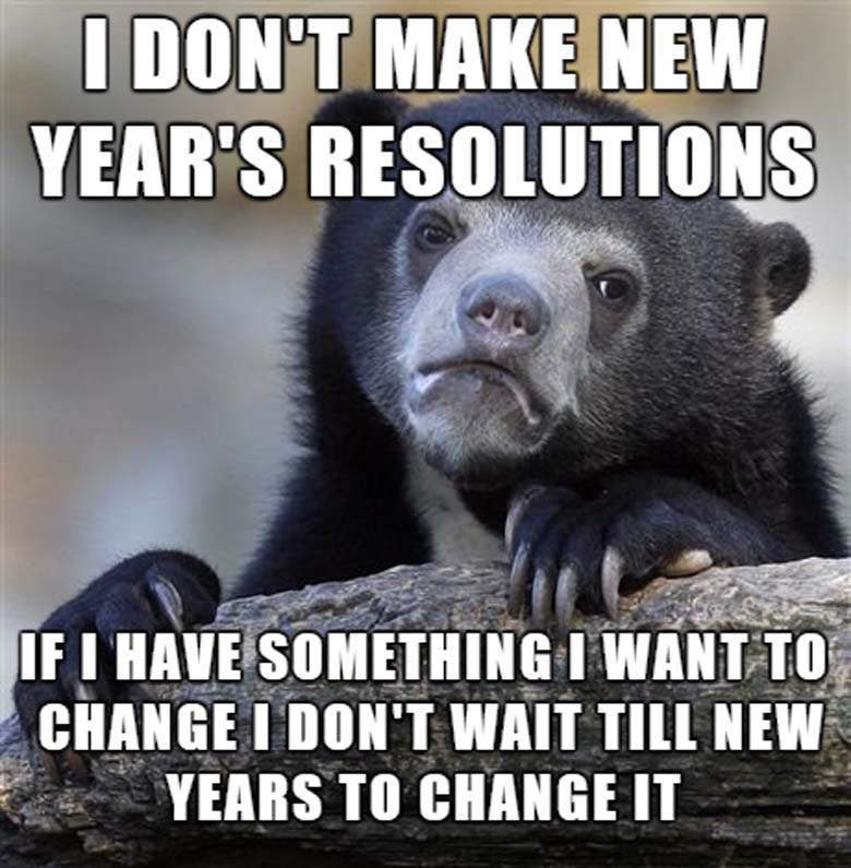 New Years Resolution Quotes Funny Newyearcooltestinfo