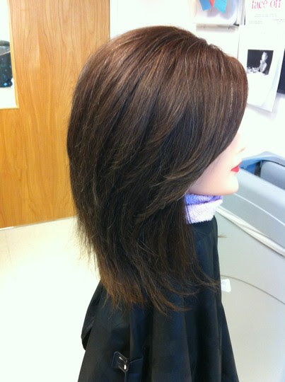 Layered Haircuts Back View 2015 New Hair Style
