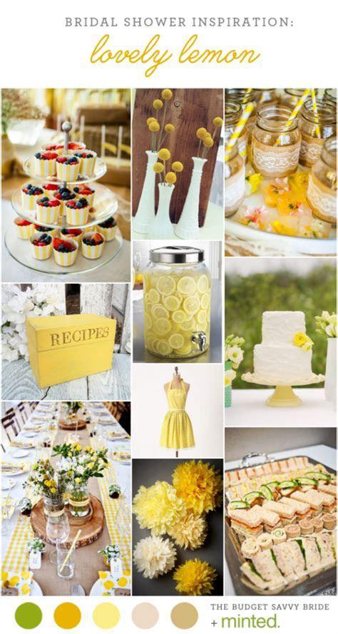 Yellow Bridal Shower Inspiration   CREATIVE WEDDING