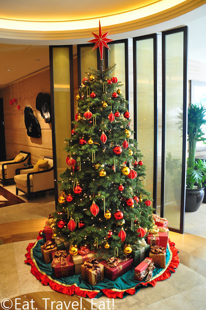 Island Shangri-La Christmass Tree @ Fitness Centre