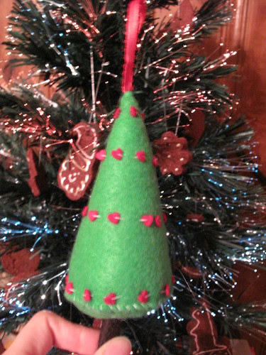 Raoul made me this tree ornament.
